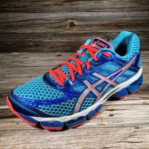 ASICS Gel-Cumulus 15 Running Shoes Women 8.5 Blue